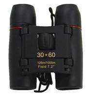 jumelles de nuit mini achat en gros de-30X60 126 M / 1000 M Vente Chaude Zoom Mini Jumelles Extérieure Télescopes NO Vision Nocturne Non infrarouge