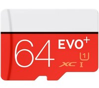 Wholesale Tf Card 1pcs - EVO Plus 32GB 64GB 128GB Class10 UHS-1 MicroSDHC TF SD Card for Android Powered Tablet PC Digital SmartPhones Up 80MB s EVO+ 1pcs moq