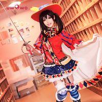 Wholesale L Idol - Nico Yazawa Cosplay Lovelive   Love Live School Idol Project Awakening Magician Costume With Hat Free Shipping
