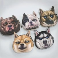 Wholesale Shaped Handbag Holder - New Harajuku personality men and women coin pocket Wang Xing people dog wallet to increase the quality of wholesale handbags