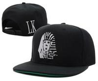 Wholesale red lk snapback hat resale online - Last Kings snapback Caps cotton men s Adjustable baseball hats women sun hat fashion sports LK brand cap