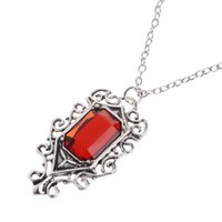 Atacado- The Mortal Instruments City of Bones Isabelle Lightwood's Vintage Necklace