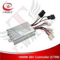 Wholesale Electric Scooter Dc Motor - Wholesale-1000W 36V Brushed DC Motor Controller for 800W 1000W 36V Electric Scooter with 9 Plastic Plugins ( Scooter Controller)