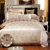 Wholesale King Sized Silk Sheet Sets - new arrival Off white silk bedding set queen size silk linen king size silk bed set tencel duvet cover cotton bed sheet 5179