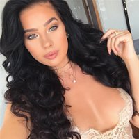 Wholesale Good Cheap Lace Front Wigs - Full Lace Wigs Natural Color Body Wave For Ladies Cheap Price Good Quality Brazilian Hair Lace Wigs Hot Selling