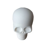 Wholesale Silicon Screw - Skull Screw Top Silicone Container For Dab Silicon Container Bho Silicon Box Tub Jar Wax New 1 Piece