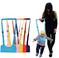 bebek yürümek kemeri toptan satış-Yeni Çocuk Kaleci Bebek Yürüyüş Wings Bebek Yürüyüşe Bebek Sepeti Tipi Toddlers Öğrenme Yürüyüş Kemer ücretsiz kargo