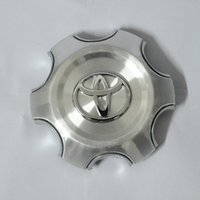 Wholesale Toyota Cruiser - 140mm 95mm Silver Full Chrome Wheel center Hub Cap Alloy hubcaps Fit 2007-2013 Toyota Land Cruiser 4000 Prado 4.0L
