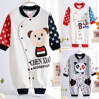 Wholesale Short Overalls For Baby Girls - aby Rompers Costumes Fleece for Newborn Baby Clothes Boy Girl Romper Baby Clothing Overalls Ropa Bebes Next Jumpsuit Clothes