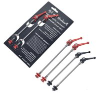 Wholesale Titanium Brands Bikes - no brand MTB titanium alloy axel quick releases,skewers,bike skewers free shipping