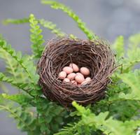 ingrosso fate in vendita in miniatura-Vendita 3 colori artificiali carino uovo fata giardino miniature mini gnomi moss terrari in resina artigianato figurine per la decorazione del giardino
