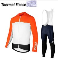 Wholesale Blue Thermal - 2016 Winter thermal Fleece cycling clothing Ropa Ciclismo long sleeve Pro cycling jersey Bycle bib long pants Sets winter cycling clothes