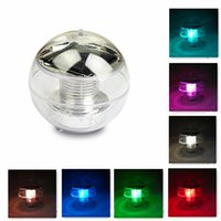 Wholesale Solar Powered Light Ip68 - New Solar outdoor RGB LED Floating Lights IP68 waterproof garden pool Landscape Color Changing solar power Night Lights