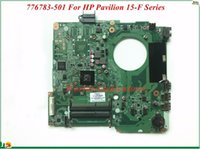 Wholesale Socket F Cpu - 776783-501 For HP Pavilion 15-F Series Laptop Motherboard DA0U93MB6D0 E1-2100 CPU DDR3 High Quality&Wholesale&100% Tested