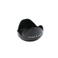 sigma lensler toptan satış-Evrensel 49mm Kamera Lens Hood Dağı Lens Hood içinde Vida Lotus Çiçek Petal Lens Hood Canon Nikon Pentax için Sony Sigma Tamron