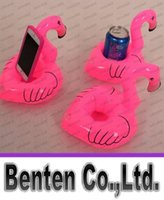 Beach Toys Animals 3 & 4 Years Flamingo Inflatable Drink Botlle Holder Lovely Pink Floating Bath Kids Toys Christmas Gift For Kids LLFA88