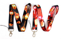 Wholesale Classic Phone Mp3 - New arrival ! 100pcs lot Marvel Comics Classic Hero Iron Man Neck Lanyard for MP3 4 cell phone DS lite Free shipping