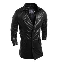 Wholesale Fall new autumn men casual leather jacket motorcycle pu coat jaqueta couro M L XL XXL JPYG32