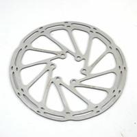 cıvata diski toptan satış-Velosa yüksek kalite MTB / yol disk fren / cyclocross bisiklet fren diski, 6-bolt fren diski merkez hattı rotor 160mm / 180mm