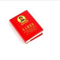 Vente en gros pas cher Chine Little Red Citations BOOK Président Mao English / Livraison gratuite