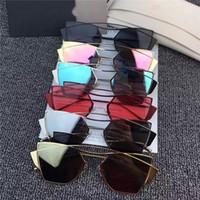Wholesale Cheap Glasses Stones - Best Cat Eye Sunglasses for Women High Quality Fashion Cheap CR-39 Lenses Metal Alloy Full Frame Womens Sun Glass STONE TAILOR