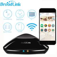 geniş anahtar toptan satış-Orijinal Broadlink RM Pro RM2 Evrensel Akıllı Denetleyici Akıllı Ev Domotica Otomasyon WIFI + IR + RF Uzaktan Anahtarı VIA IOS Android