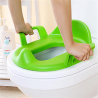 Wholesale children potty - PP Soft Adjustable Easy Clean Baby children Toddler Training Urinal Baby Care Potties Seat Pedestal Pad Ring