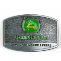 Wholesale Metal Belt Plated - Disom Buckles Zinc alloy John Deere belt buckles metal Men's Buckles with high quality suitable for 4cm Belt good plating Drop shipping