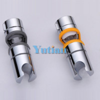 Wholesale Cheap Wall Mounts - Free Shipping New ABS Chrome Shower Head Holder Adjustable Rail Bracket Slider YT-5151 Cheap slider music