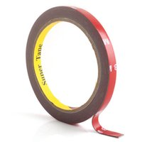 Wholesale Waterproof Double Sided Tape - Wholesale-3M Auto Acrylic Foam Double Sided Attachment Tape 8mm #3847