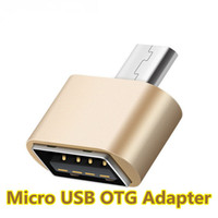 Wholesale adapter for keyboard - Mini Micro Usb OTG Cable To USB OTG Adapter For Samsung HTC Xiaomi MEIZU Sony LG Android OTG Card Reader Connect with Keyboard Mouse U disk