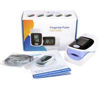 Wholesale Blood Pressure Monitor Spo2 - 2016 Health Care Blood Pressure Monitor Pulse Oximeter SPO2 Rate Oxygen Finger Neonatal Fingertip Pulse Oximeter Sensors