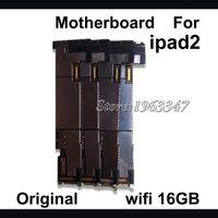 ursprüngliches ipad 16gb großhandel-Wholesale-16GB 100% ursprüngliches Motherboard für Ipad 2 Mainboard, freigesetzter WIFI-Versions-Motherboard-Logik-Brett zerteilt Ersatz