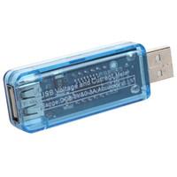 güncel izleme toptan satış-Yeni Sıcak USB Güç 2.0 / 3.0 Amp Metre Cihazı Şarj Monitör Gerilim Akım Multimetre
