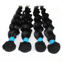 Wholesale Low Price Virgin Remy Hair - 8pcs lot 100% Peruvian Human virgin Hair Extensions Deep Wave Hairs 7A Grade Best Quality 1B natural color Wholesale Factory Lowest Price