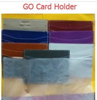 Wholesale Ladies Faux Belts - GO malesharbes cad holder leather wallet card more letter credit card bus card package with the box