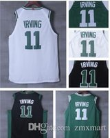 # 11 Kyrie Irving Celtic Boston 2017-18 New Style AU 100% maglie pallacanestro cucita Embroideried Sports Wears
