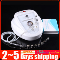 Wholesale diamond microdermabrasion dermabrasion machine - Diamond Dermabrasion Crystal Microdermabrasion Vacuum Face Care Peeling Lifting Skin Rejuvenation Wrinkle Removal Anti-aging Beauty Machine
