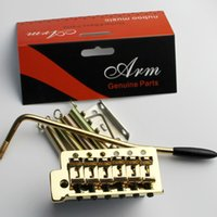Wholesale Guitar Korean - gold production Korean anti- shake flashlight guitar single tremolo bridge Korea SUNG-IL processing