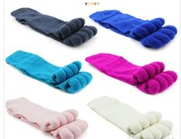 Wholesale Massage Socks Health - For Summer or Spring Happy Feet Foot Alignment Socks Comfy Toes Sleeping Socks Massage Five Toe Socks health