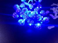 balão submersível led venda por atacado-Colorido Rodada Led RGB Flash Ball Lâmpadas Balão Luzes Lanterna Submersível Luzes para Lanterna de Natal Decoração de Festa de Casamento