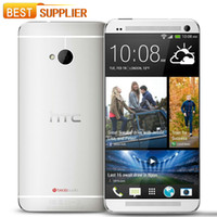 "Wholesale Smartphone Quad Core 2gb Ram - 2016 Hot Sale Original Unlocked HTC One M7 801e 2gb Ram 32gb Rom Android Smartphone Quad Core 4.7"" Touchscreen Shipping"