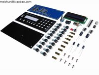 Wholesale Dds Signal Generator Kit - Wholesale-FG085 Educational Electronic DIY Kit DDS Digital Synthesis Function Signal Waveform Generator Kit With Panel