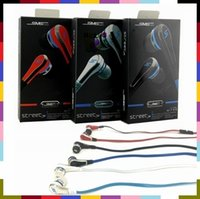 Wholesale Sms Wireless Headset - SMS 50 cent sports in-ear headset headphones earphone Neckband In Ear Music Player For Iphone Samsung LG HTC