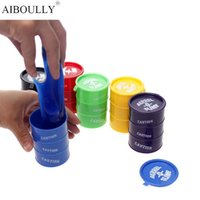 Wholesale Novelty Toy Supplies - Many Colors New Barrel Slime Fun Shocker Joke Gag Prank Goo Gift Toy Crazy Trick Party Supply Paint Bucket Novelty Funny Toys