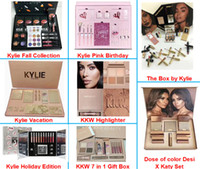 Wholesale Chrismas Set - New Kylie Vacation Bundle Birthday Collection I WANT IT ALL the Box by Kylie Jenner & Chrismas Holiday Edition Fall Collection Makeup Set