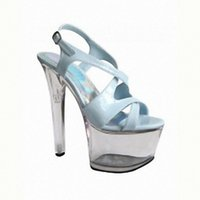 Wholesale Pictures Stiletto Heels - 15 cm high heels Ultra slim with thick bottom crystal sandals Pictures show the shoes wholesale fashion women's sandals