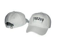 Wholesale 2016 hot Yeezus Caps baseball hats NHL snapback headgear Chapeau adjustable hats high quality snapback caps factory price ball caps