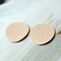 heißer lederstock großhandel-Heißer Verkauf Halbe Einlegesohle Pad Tuch Pad Code Halbe Leder Matte Palm Stick Palmilha Memory Foam