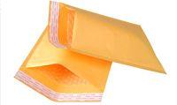 Wholesale Bag Sealing Tape - Kraft PE Bubble Mailer  bags Wrap Transport Packaging Envelopes pad 11x13 15x20 20x25 23x28cm Self Sealing adhesive tape 50pcs lot